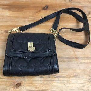 Adorable Betsey Johnson purse heart